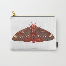 Regal Moth Carry-All Pouch