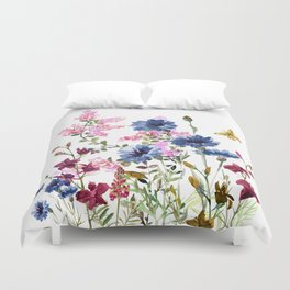 Wildflowers IV Duvet Cover
