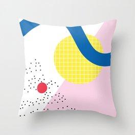 Memphis Series 03 Throw Pillow