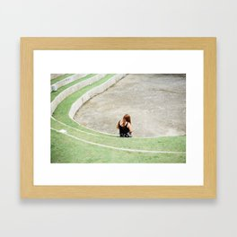 Chiangmai Circle Framed Art Print