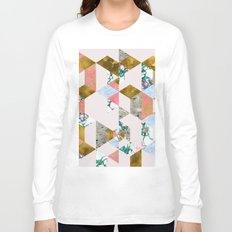 Geometry of Love #society6 #decor #buyart Long Sleeve T-shirt