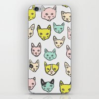 kittens iPhone & iPod Skins featuring Kittens by Elisa MacDougall