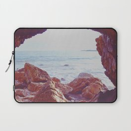Waiting by the Sea Laptop Sleeve