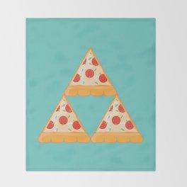 Tri-Pizza Throw Blanket