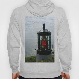 The Red Beacon On Tillamock Bay Hoody