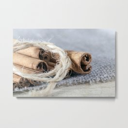 cinnamon sticks Metal Print