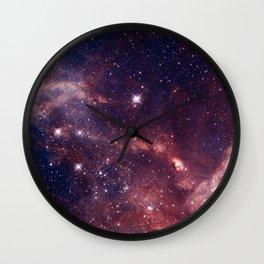 Magellanic cloud galaxy Wall Clock