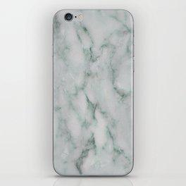 Ariana verde - smoky teal marble iPhone Skin
