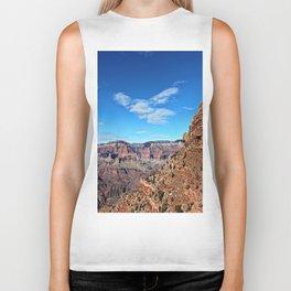 Overlooking the Grand Canyon Biker Tank