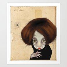 I'll be watching you... Art Print