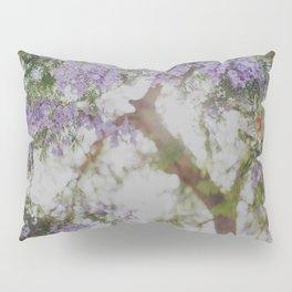 Purple Flowers Dream Pillow Sham