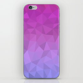Vibrant Ombre iPhone Skin