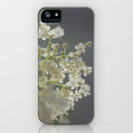 elderflower unedited iPhone Case