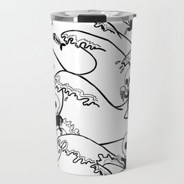 surferSkeleton Travel Mug