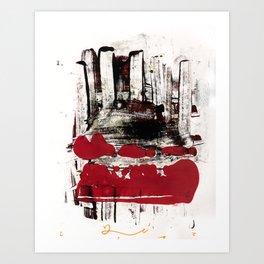 blood and marrow v2 Art Print