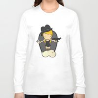 gangster Long Sleeve T-shirts featuring Gangster Style by Jaqueline Teixeira