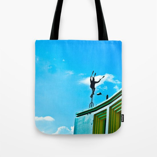 THE WIND AND THE BALANCE Tote Bag