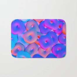 Colorful candy Bath Mat