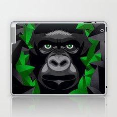 Shy Green Eyes Laptop & iPad Skin