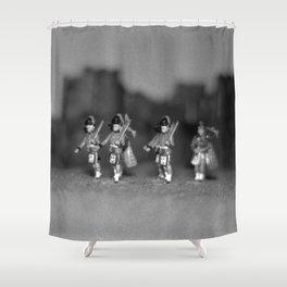 Highlanders Shower Curtain