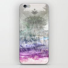 Colored Peak iPhone & iPod Skin