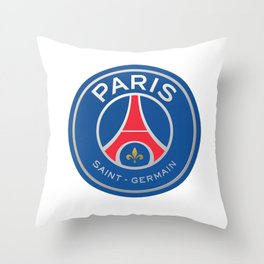 PSG Logo Throw Pillow