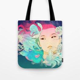 Fish Lady Tote Bag