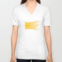 cowboy bebop V-neck T-shirts featuring Space Horse (Spikes Horse)Bebop)Cowboy)Swordfish) by Geekleetist