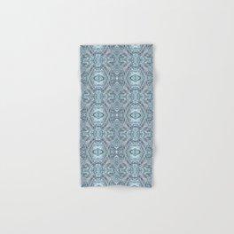 115 - Ice pattern small Hand & Bath Towel