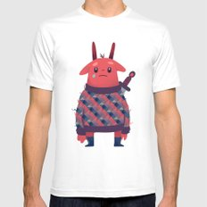 Bunny MEDIUM Mens Fitted Tee White