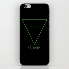 Earth Element Symbol iPhone Skin