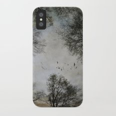 Lost in the Woods iPhone X Slim Case