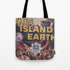 This Island Earth: Pulped Fiction Edition Tote Bag