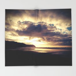 The Sea Gate  Throw Blanket