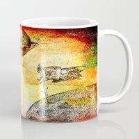 pirates Mugs featuring Pirates' DEN by Ganech joe