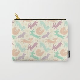 Pastel Dachshunds Carry-All Pouch
