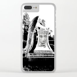 Fallen Angel (alternative view) Clear iPhone Case