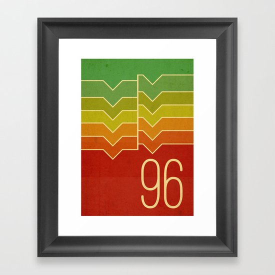 Nineteen ninety six Framed Art Print