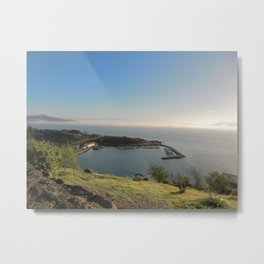 San Francisco Sausalito from the Gate Viewing Spot Metal Print