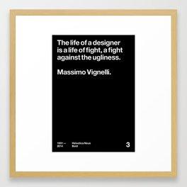 Wise Words – 03 Framed Art Print