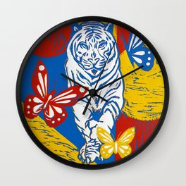 Wild Day Beauty Wall Clock