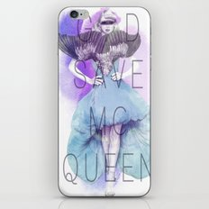 God Save McQueen iPhone & iPod Skin