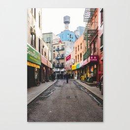 China Town Canvas Print