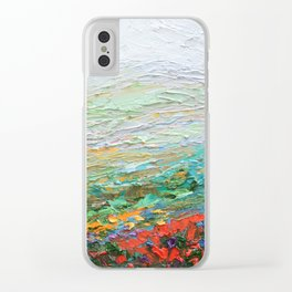 Appalachian Fall Clear iPhone Case