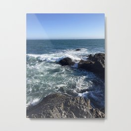 We Dream In Colors Borrowed From The Sea Metal Print