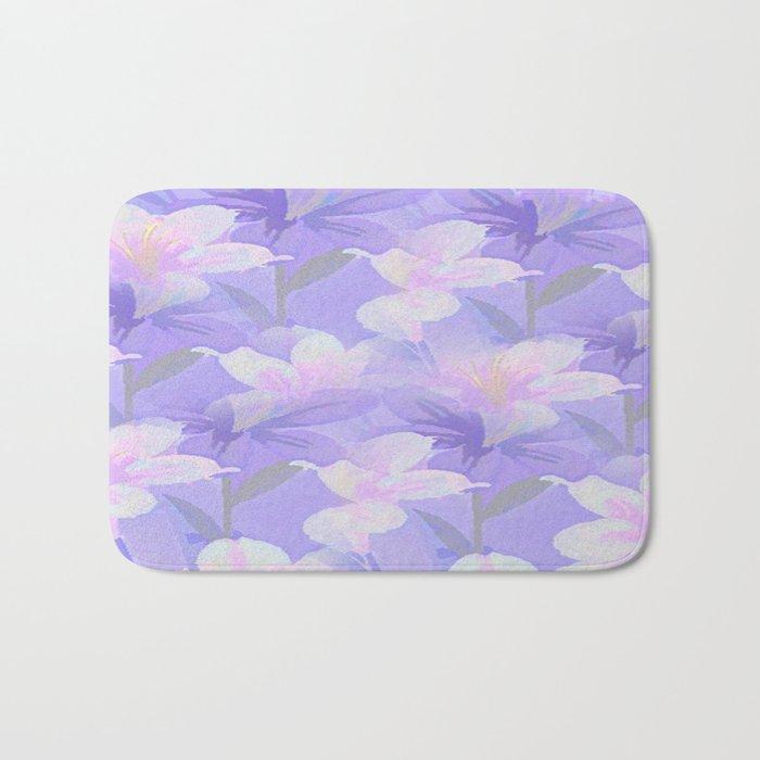 Abundance Of Flowers - Painterly Bath Mat