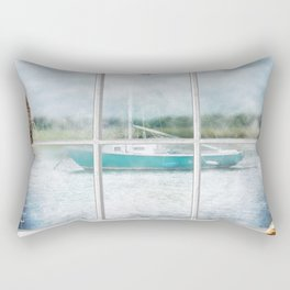 By The Bay Rectangular Pillow