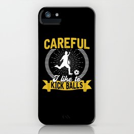 Football Game Ball Gift iPhone Case