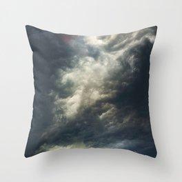 Cloudio di porno II Throw Pillow