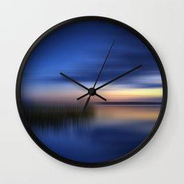 FINLAND Abstract Evening Mood Wall Clock